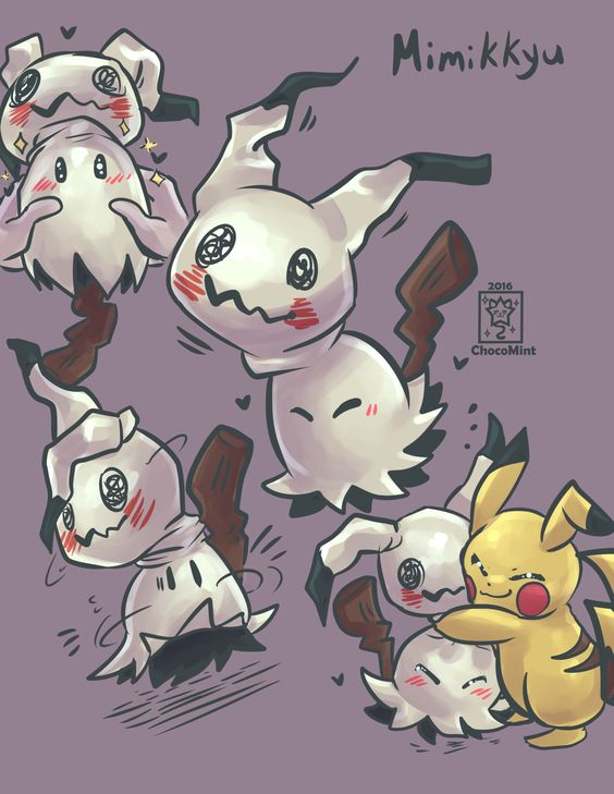 Pokemon Mimikkyu