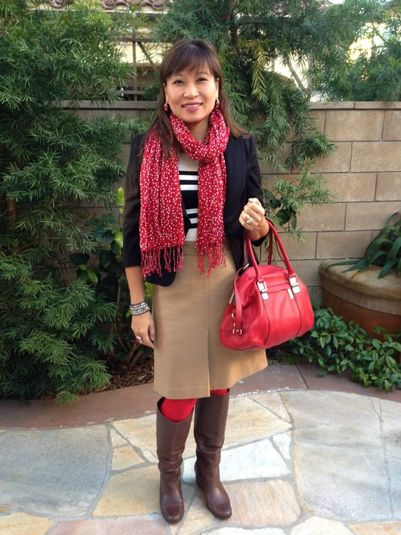 Happiness at Mid-Life: Red Tights