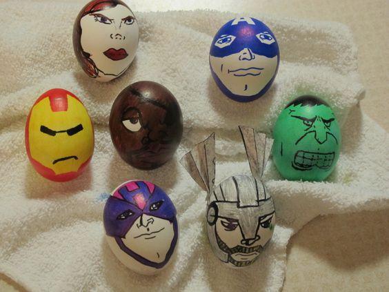 Avengers Eggs Fun Easter Idea with Thor, Hulk, Iron Man ...