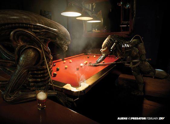 Sky TV – Alien VS Predator