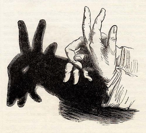 The Goat's Head Hand-Shadow (Frank Leslie's Popular Monthly, February 1881)