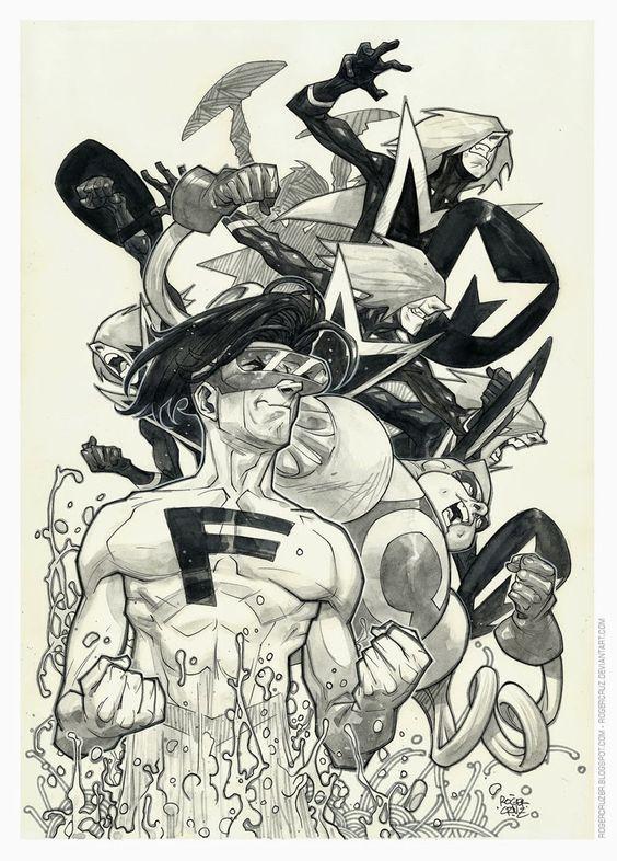 Galeria de Arte (6): Marvel, DC Comics, etc. - Página 26 Bdd833ad9d37056ecf4d31e3b34a4bfe