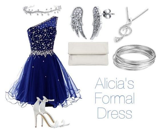 """Alicia's Formal Dress"" by chatterbox9000 on Polyvore featuring MaBelle, Bling Jewelry, BERRICLE, Whistles and Worthington"