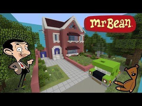 Cache Cache Sur Minecraft Map Mr Beans Mr Beans House Ps4