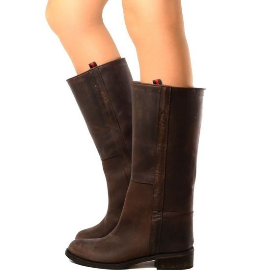 Stivali Donna Camperos Scarpe Biker Boots Vera Pelle Nabuk Vintage KikkiLine in Abbigliamento e accessori, Donna: scarpe, Stivali e stivaletti | eBay