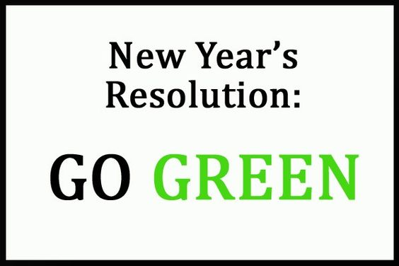 Have you made and broken your New Year Resolutions already? Did you vow to lose weight or learn a new language maybe? Well why not sign up for these Green Resolutions that are not only good for Y…