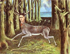 Frida Kahlo Wounded Deer 1946