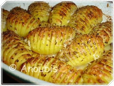 Beilage - Schwedische Fächerkartoffeln Rezept von Anoubis   rezeptwiese.de