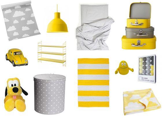 Valkoinen Koti: Poikavauvan huonetta suunnittelemassa