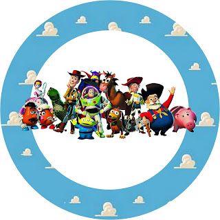Toy Story - Kit Completo com molduras para convites, rótulos para guloseimas, lembrancinhas e imagens!