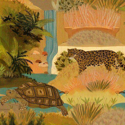 Ester la tortuga terrestre chaqueña y Francisca la yaguareté son parte del elenco de la colección Perenne Chaco y Misiones y no pueden más. Inundan nuestros textiles con #masamoranimal