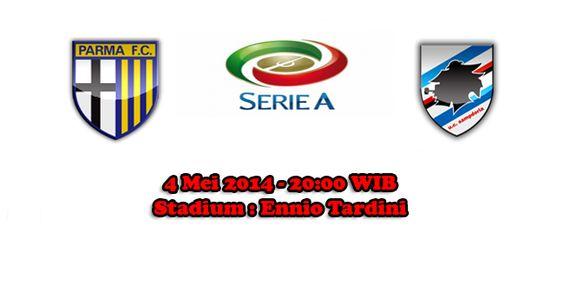 Prediksi Bola Parma Vs Sampdoria 4 Mei 2014
