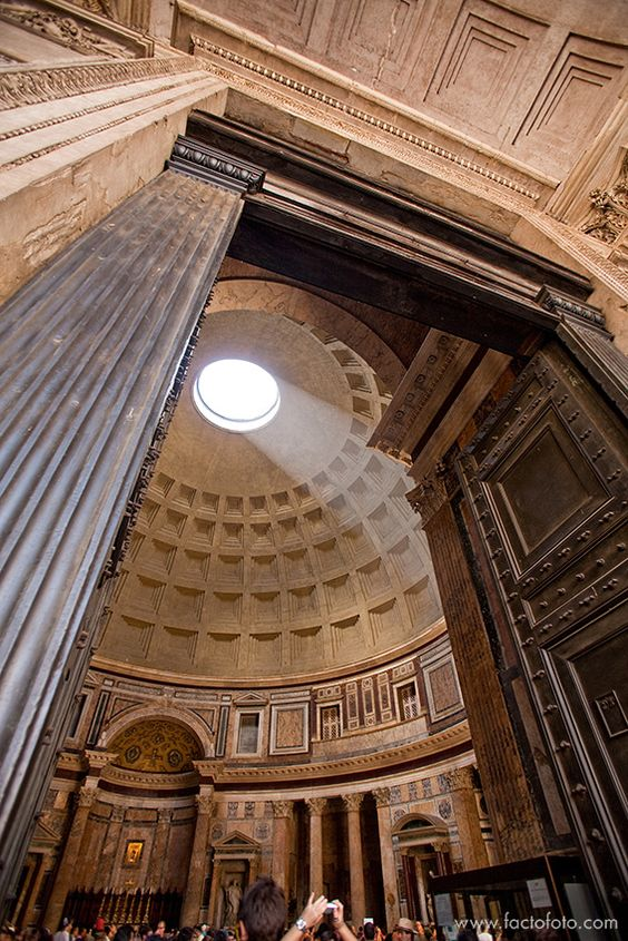 Agrippa Pantheon. Rome. Italy