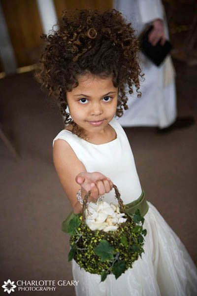 black hairstyles with shaved sides : Curly Flower Girl Hairstyles Flower Girls Pinterest Hair down ...
