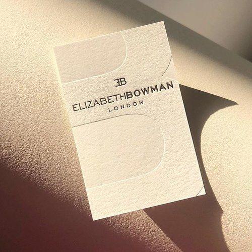 Interior Designer Business Cards London Elizabeth Bowman Businesscards Foil Interior Designer Business Card Embossed Business Cards Fashion Business Cards