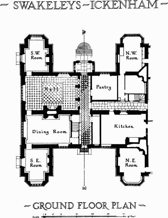 Plate 4 Ground plan British History Online Architecture