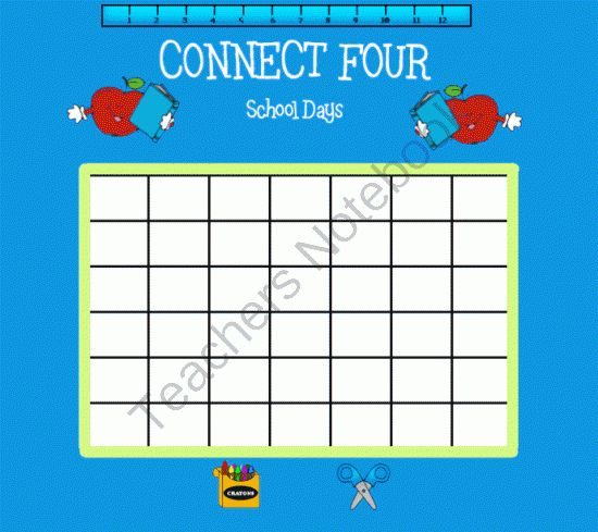 Connect Four SMARTBoard Game from 1 2 3 Interactive Classro on TeachersNotebook.com -  (10 pages)
