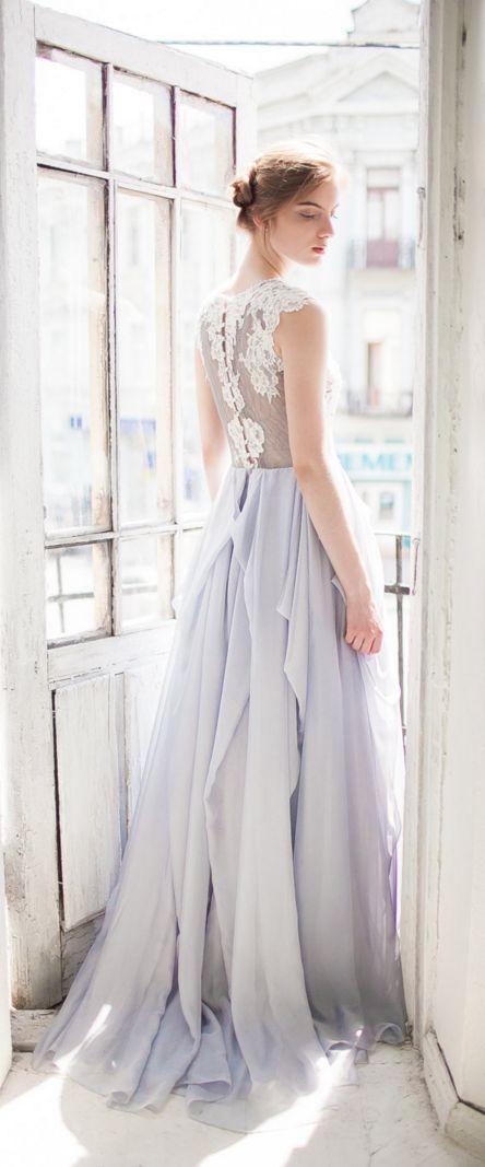 robe de mari e bleu p le pastel le look de la mari e pinterest une ligne r ceptions et robes. Black Bedroom Furniture Sets. Home Design Ideas