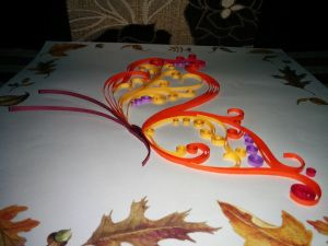 Graphic Quilling: Butterfly