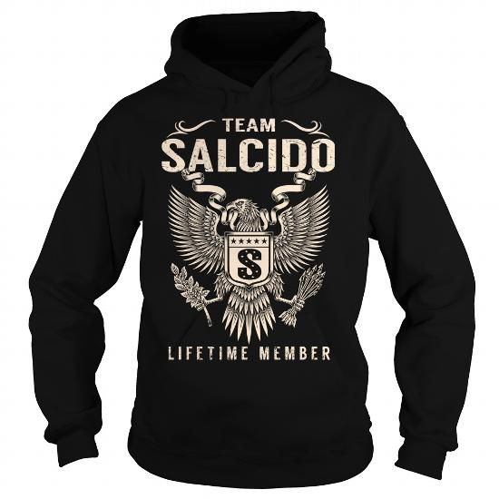 Team SALCIDO Lifetime Member - Last Name, Surname T-Shirt - #tshirt quilt #tshirt art. Team SALCIDO Lifetime Member - Last Name, Surname T-Shirt, unique hoodie,sweater pattern. FASTER =>...