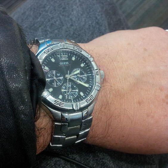 Picked up the #Guess #watch last week. New seal, new coil, pressure test. Good as new!!! #watchgramm #timepiece  #wristgame #watchporn #wristswag #wristshot #watchfam #wristwatch #watchesofinstagram #dailywatch #watches #watchgeek #watchnerd #style #instadaily #instagood #igers  #TagsForLikes @TagsForLikes #instagood #me  #follow #photooftheday #picoftheday #instadaily #swag #TFLers #fashion #instalike