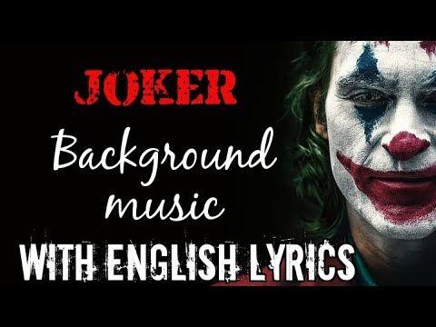 Joker Bgm Music Full Song Indila Derniere Danse Lyrics With English Translation Hq Youtube Lyrics Joker Songs