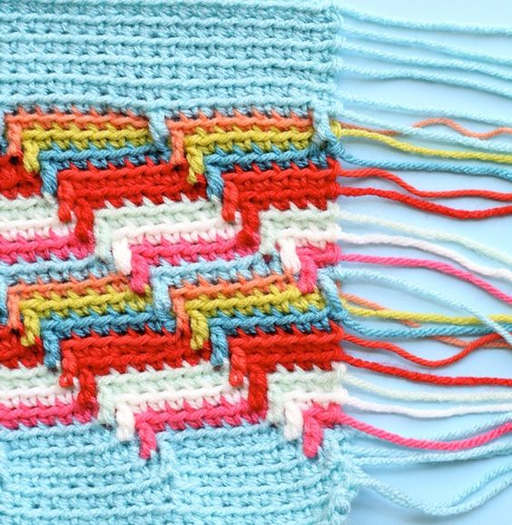 How To Crochet Apache Tears Pattern For Blanket : One Sheepish Girl Crochet Apache Tears Swatch + Scrap ...