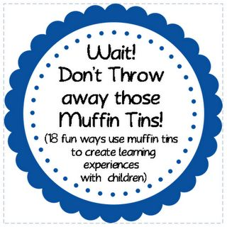 18 muffin tin activities