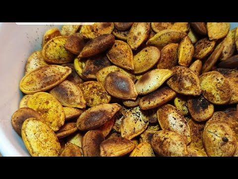 33941 تحميص اللب الأبيض تناول بذور اليقطين بالقشر لتتخلص من ديدان البطن Youtube Food Vegetables Potatoes