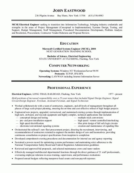 10 Collection Best Resumes Examples | Resume Example | Pinterest