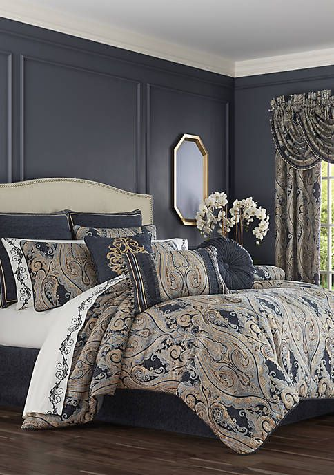 J Queen New York Sicily Gold Comforter Set Comforter Sets King Comforter Sets Master Bedroom Comforter Sets