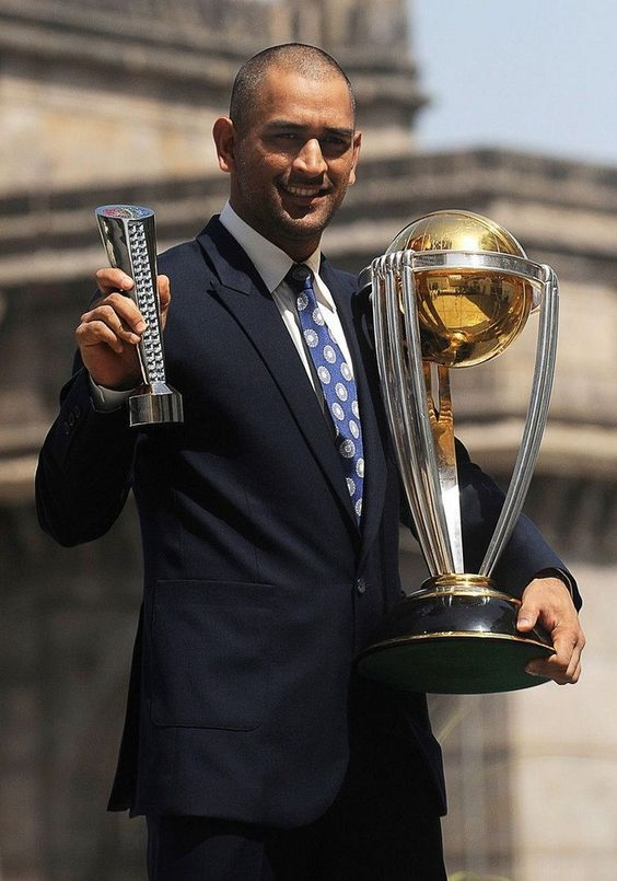 Ms Dhoni The Only Captain In The World To Win Everything Under The Sun Dhoni Wallpapers Ms Dhoni Wallpapers Cricket World Cup
