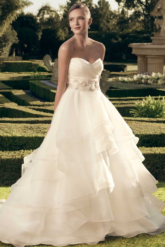 Wedding gown by Casablanca Bridal