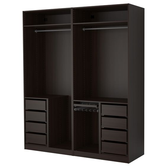 pax armoire penderie ikea dressing ouvert idee dressing pinterest assaisonnement. Black Bedroom Furniture Sets. Home Design Ideas