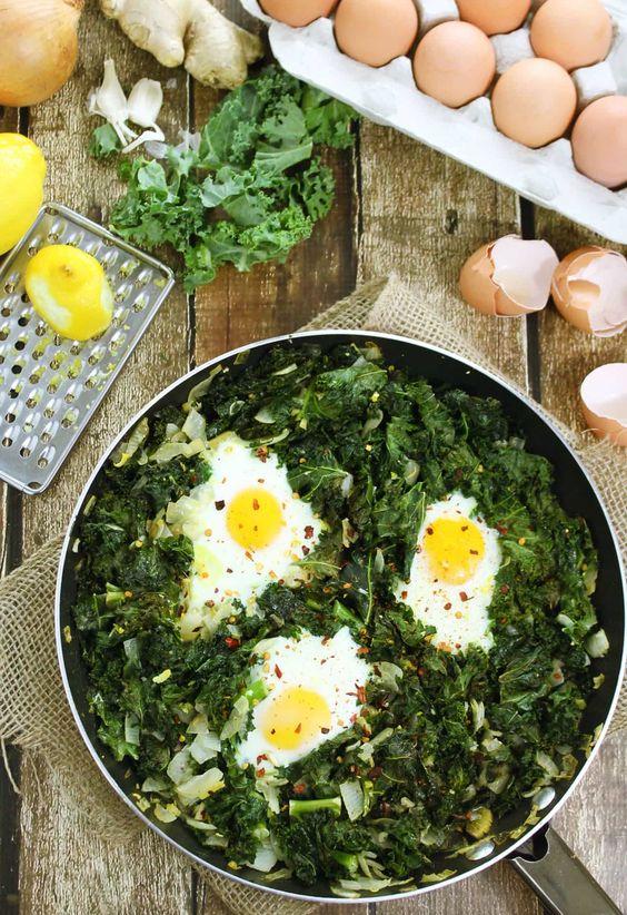 Lemon Baked Kale