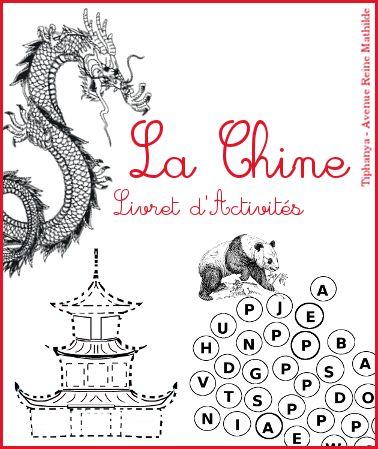 Livret d'activités sur la Chine, niveau maternelle