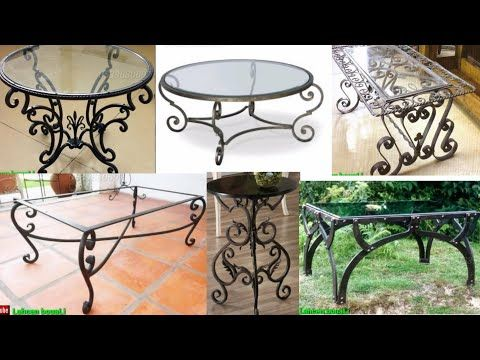 اجمل صور كتالوج طاولات الطعام الحديد فيرفرجية Soudure Forge Youtube Outdoor Decor Outdoor Furniture Outdoor Tables