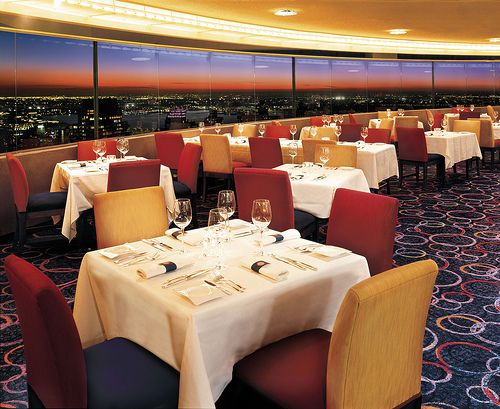 Guests Will Be Inspired At The New Toronto Marriott: Marriott Marquis's The View Restaurant, The Only Revolving