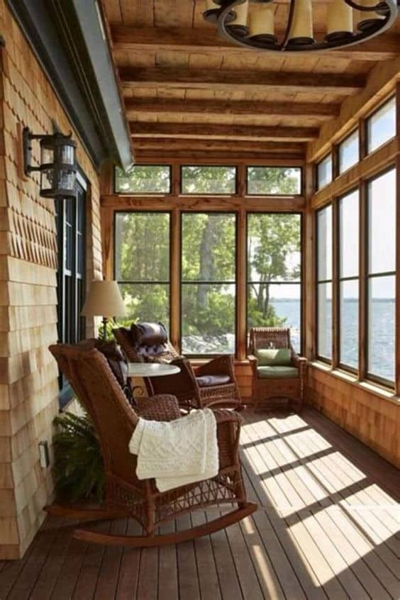 28 Beautiful Screened In Porch Ideas That You Will Love In 2020 Porch Design Screened Porch Designs Sunroom Designs