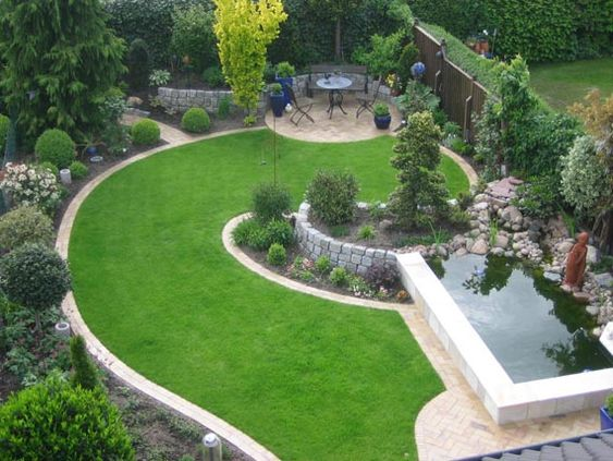 private garden landschaftsarchitektur gartenplanung moderation, Garten Ideen