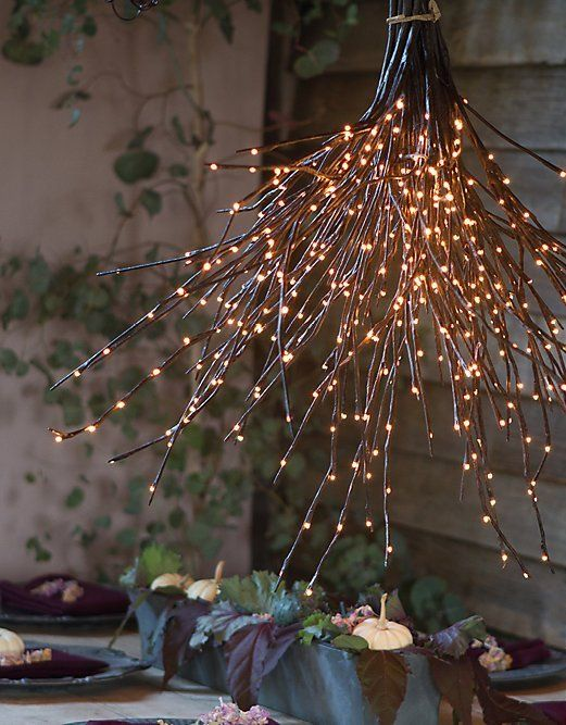 Dreamy Tree Branch Light Fixtures Diy Light Fixtures Fixtures Diy Hygge Decor