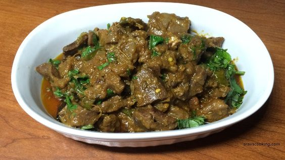 goat heart curry recipe