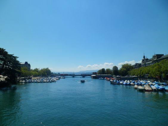 Limat, Zürich (by pingwynne)