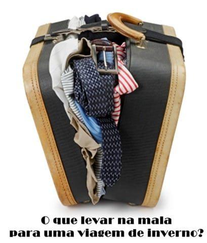 [Mala de inverno] Fatalmente uma mala de inverno é mais pesada e cheia, porque as roupas e sapatos são obviamente maiores e mais pesados, por isso, é preciso saber escolher bem o que levar.