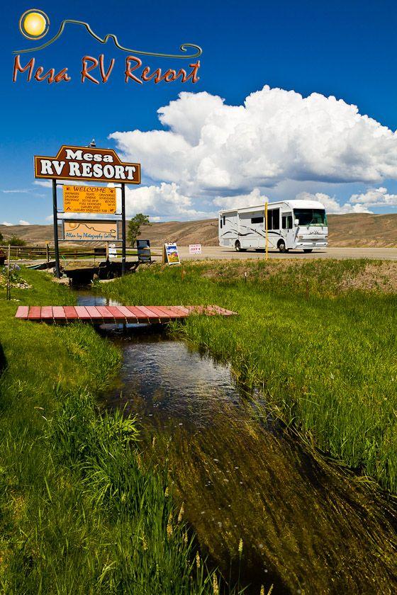 Mesa Rv Resort Gunnison Colorado Rv Campground Near Blue