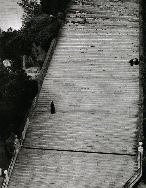 Stairway to Heaven, Rome, 1949 by Herbert List