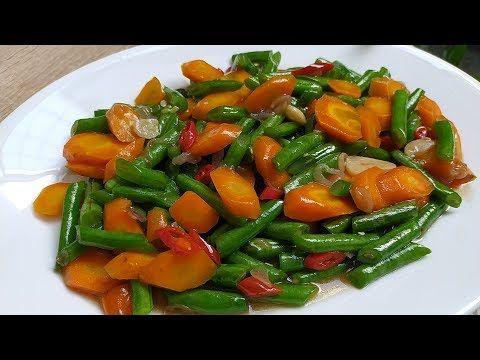 Bahan Sederhana Resep Tumis Wortel Buncis Yang Simple Dan Enak Youtube Tumis Resep Resep Masakan