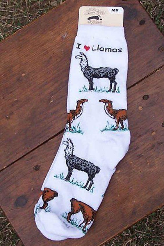 This Llama Luv Foot Flair