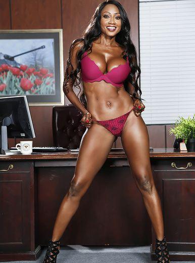 image Brazzers hot ebony executive diamond jackson rides dick