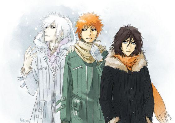 Shirosaki & Ichigo & Tensa Zangetsu | Bleach #anime #manga